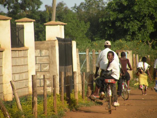 Op bezoek in Kenia